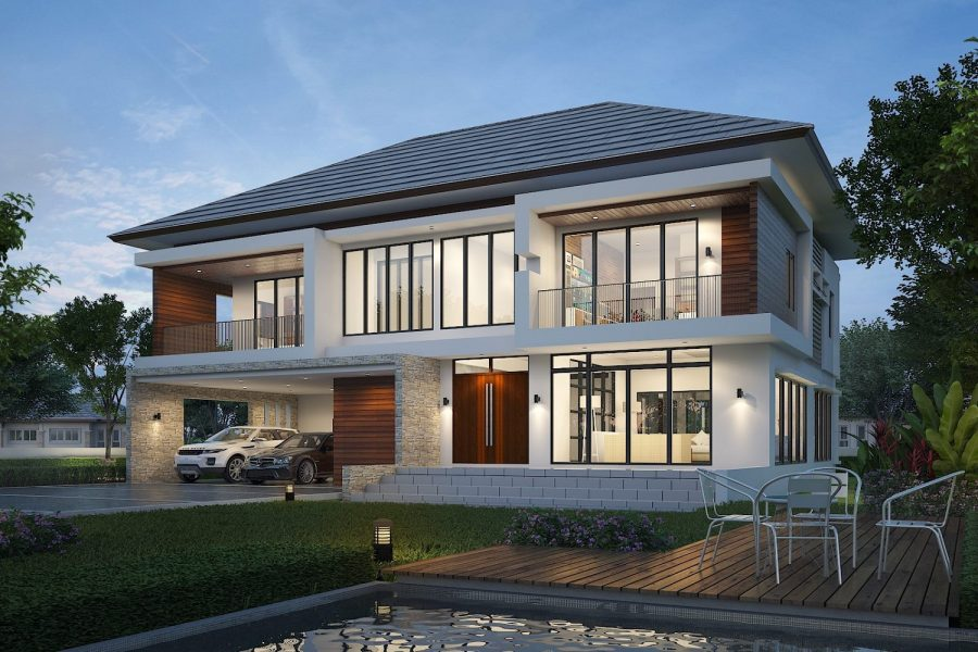 Homemax พาไปดูวัสดุที่ใช้ในการออกแบบบ้านในสไตล์ไทยประยุกต์(ตอนที่1)