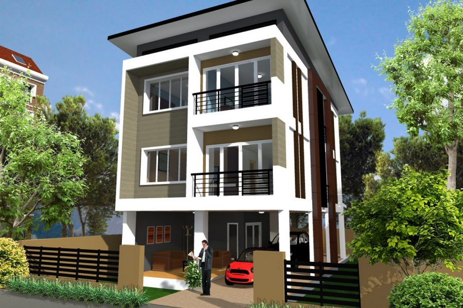 5 ไอเดียออกแบบบ้านหน้าแคบอย่างไรไม่ให้อึดอัด