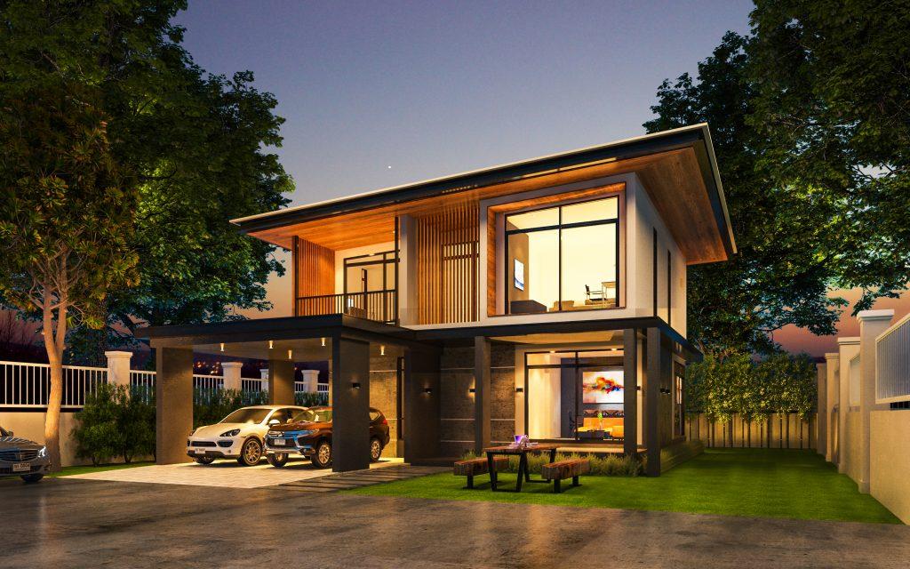 ออกแบบบ้านง่ายๆ