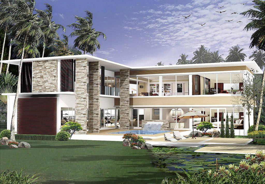 5 แบบบ้านยอดนิยมสำหรับคนยุคใหม่ แบบบ้าน ออกแบบบ้าน