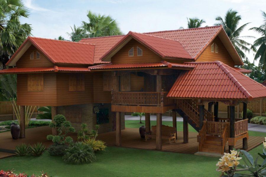 ออกแบบบ้านไม้สบาย ๆ สไตล์คนไทย