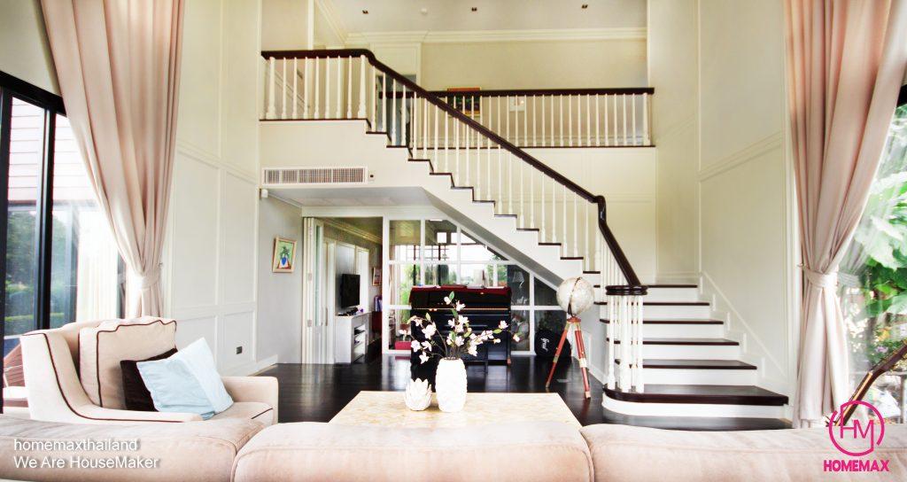 บ้านคุณโบว์ ผลงานการออกแบบบ้าน สร้างบ้าน และจัดสร้างโดย homemax